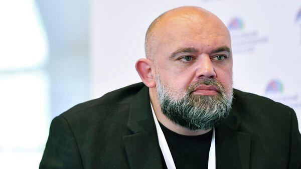 Главный врач больницы №40 Денис Проценко