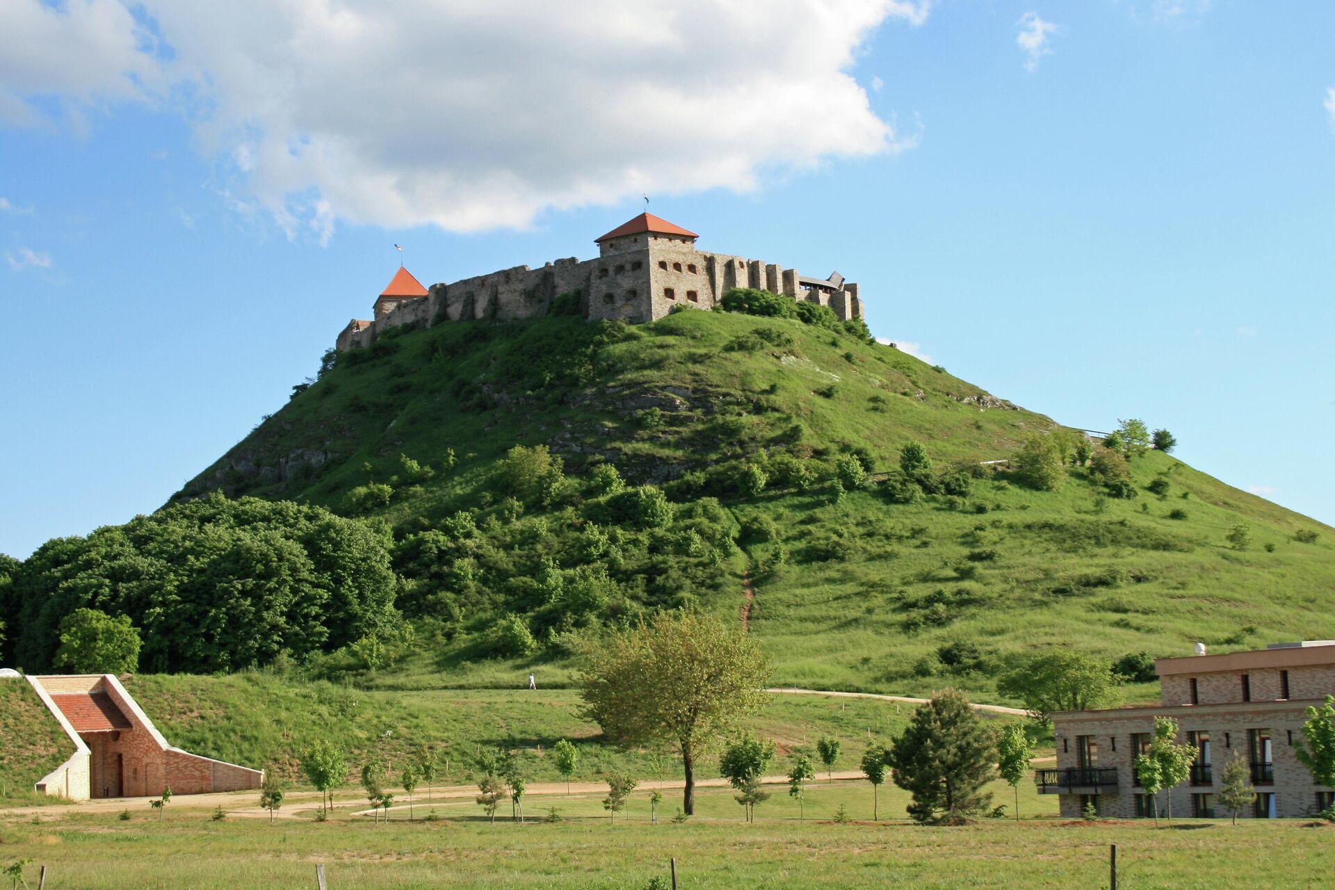 Замок города Шюмег - РИА Новости, 1920, 30.07.2021