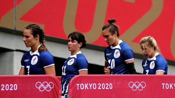 Олимпиада-2020. Регби-7. Женщины. Матч Россия - Великобритания