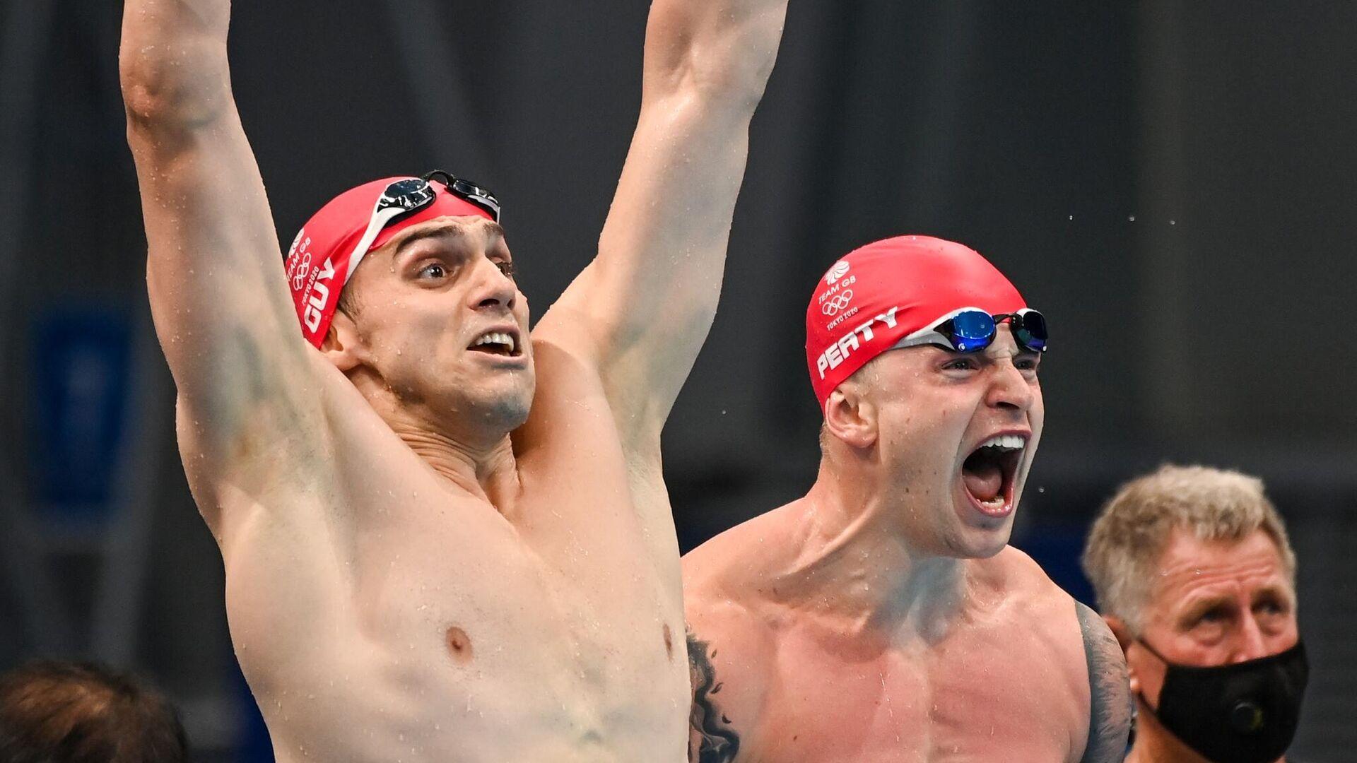 Олимпиада-2020. Плавание. Седьмой день - РИА Новости, 1920, 31.07.2021