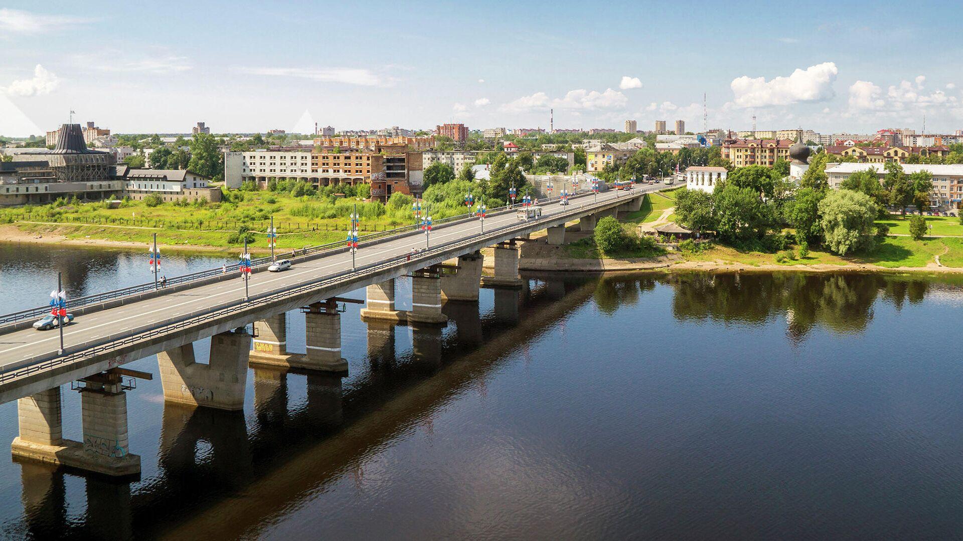 Мост через реку Великая  - РИА Новости, 1920, 06.08.2021