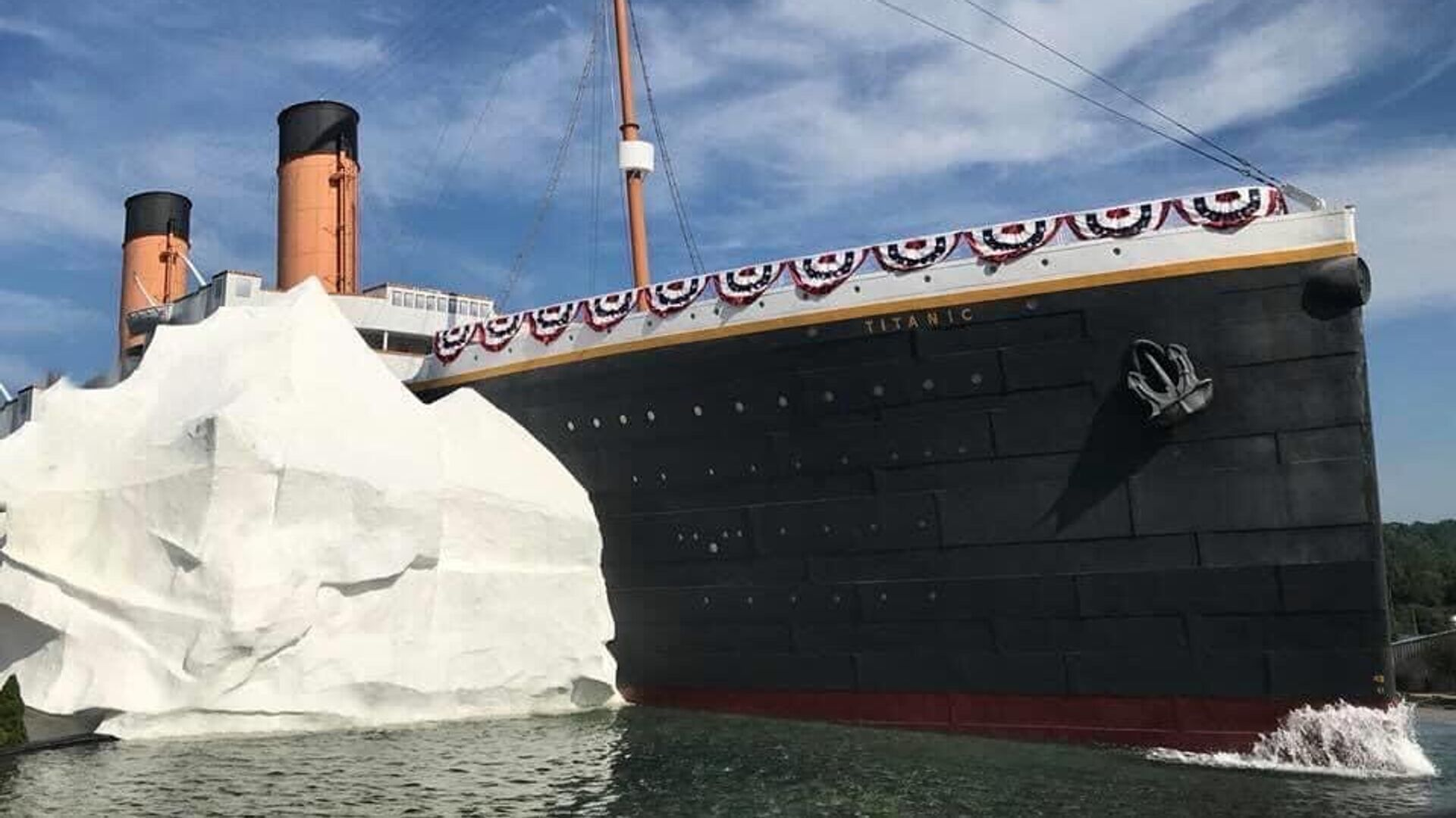 Музей Титаника в Пиджен-Фордж, США - РИА Новости, 1920, 03.08.2021