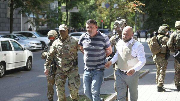 Спецоперация у здания правительства Украины в Киеве