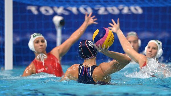 Олимпиада-2020. Водное поло. Женщины. Матч за третье место