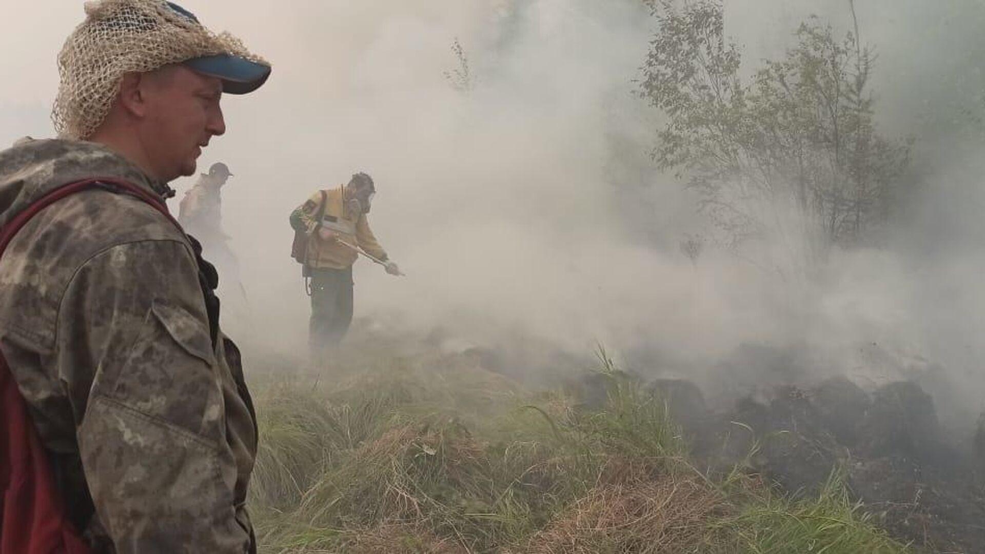 В Якутии из-за лесных пожаров отселяют жителей двух сел