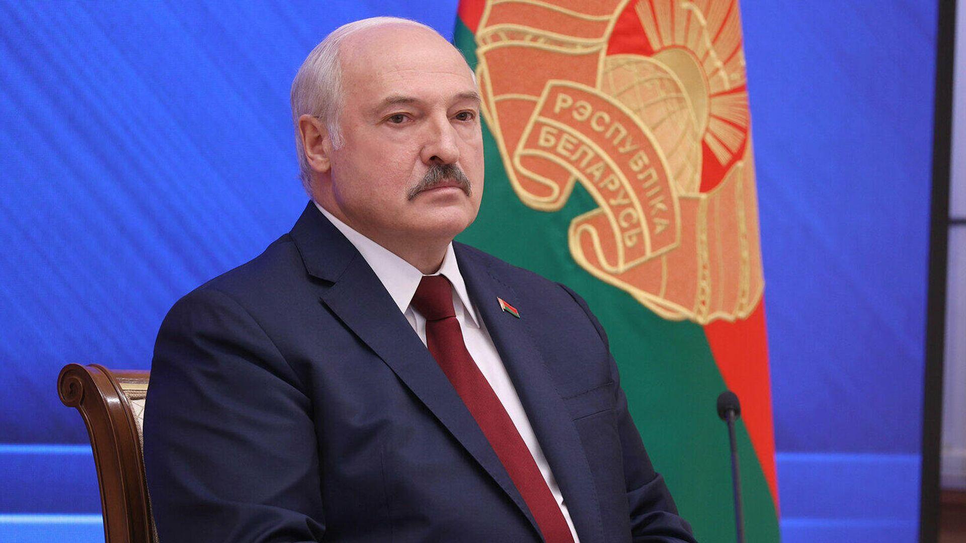 Президент Белоруссии Александр Лукашенко во время встречи Большой разговор с Президентом - РИА Новости, 1920, 02.09.2021