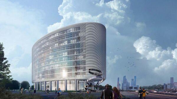 Проект научно-делового центра в промзоне в Хорошёвском районе Москвы