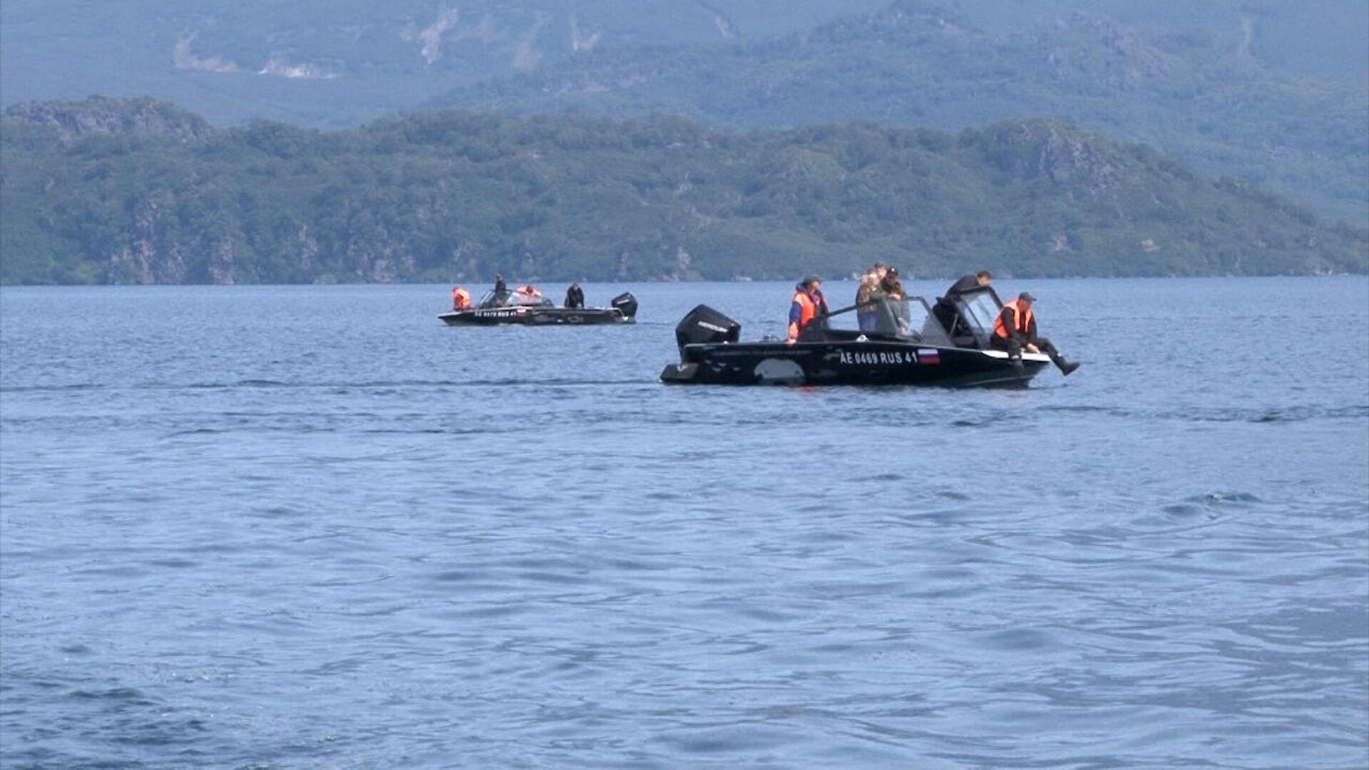 На месте крушения Ми-8 на Камчатке обнаружили тела погибших туристов