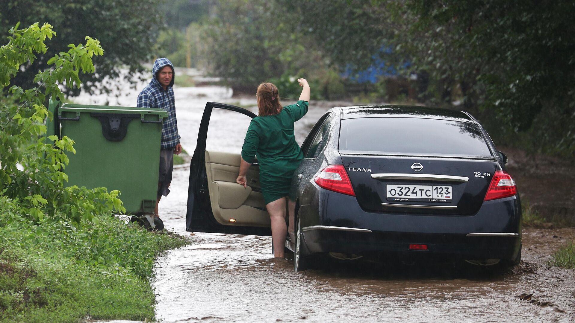 В трех городах на Кубани включили сирены оповещения в зоне подтопления