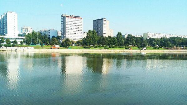 Гольяновский пруд в Москве после благоустройства