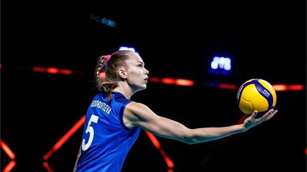 Российская волейболистка Арина Федоровцева
