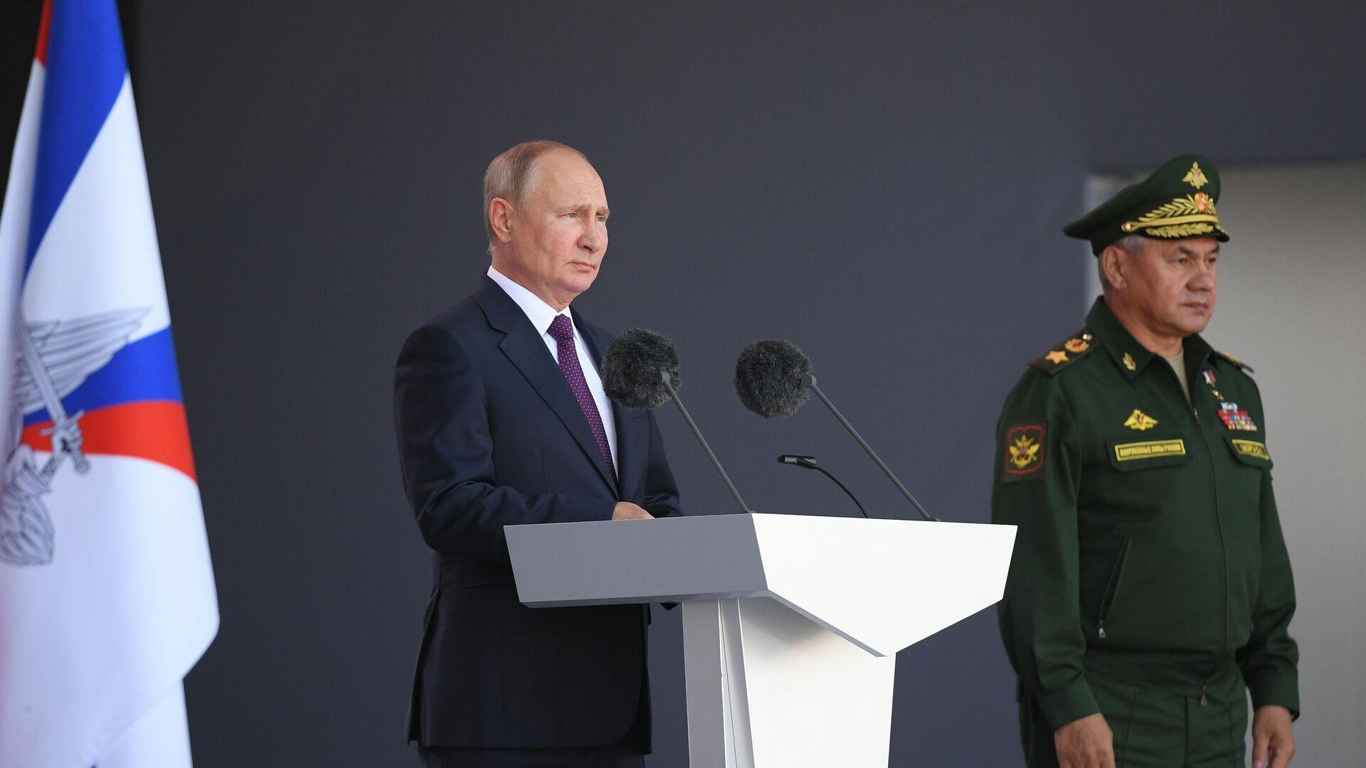 Шойгу рассказал о взаимопонимании с Путиным