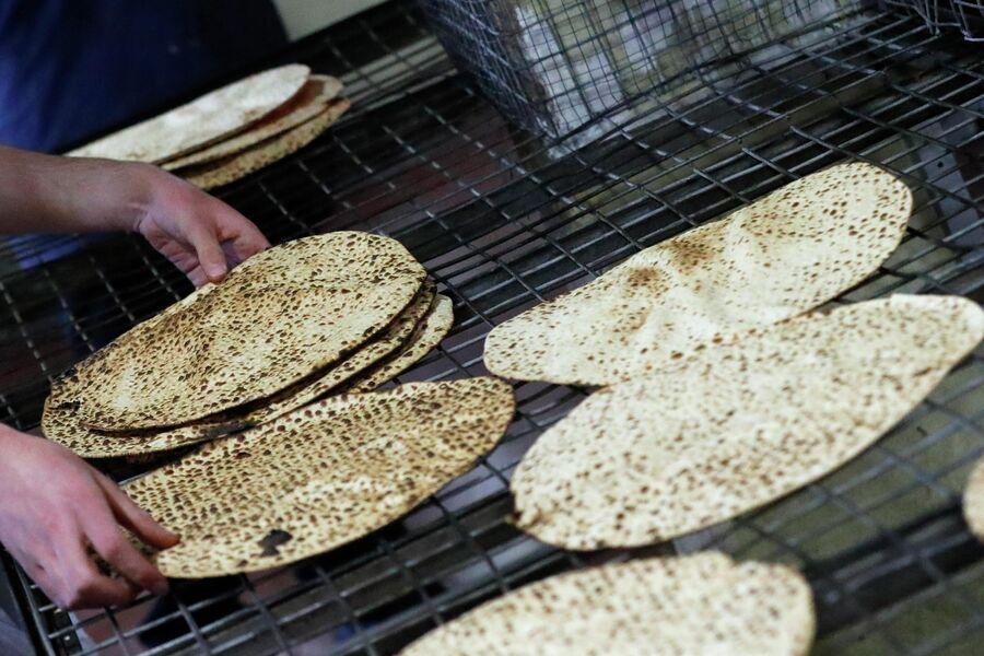 Приготовление мацы в Израиле