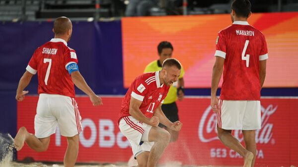 Пляжный футбол. ЧМ-2021. Матч Япония - Россия