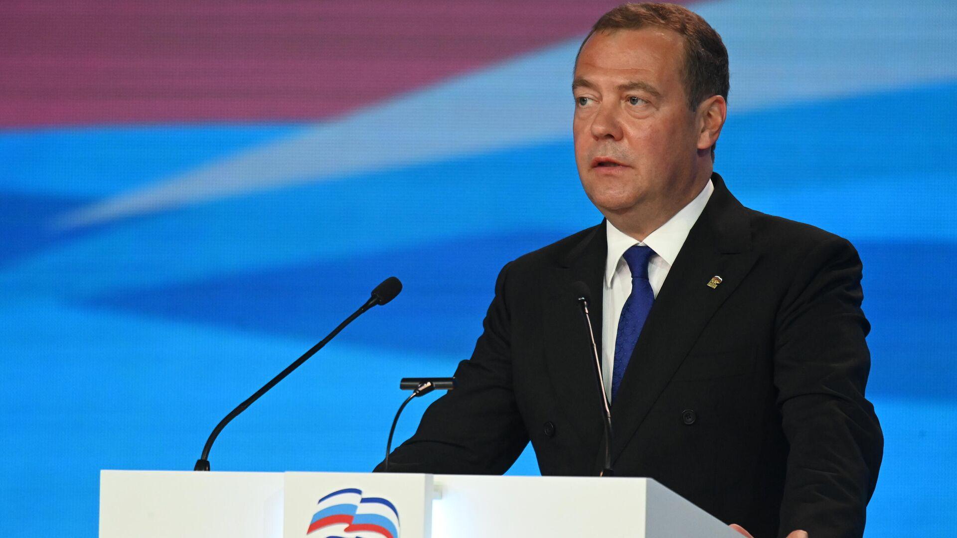 Медведев призвал поставить точку в вопросе газификации
