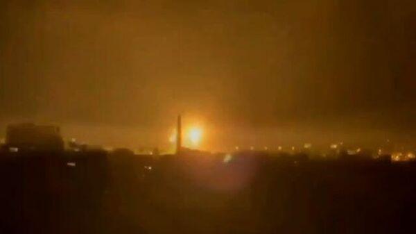 Кадры второго взрыва в Кабуле