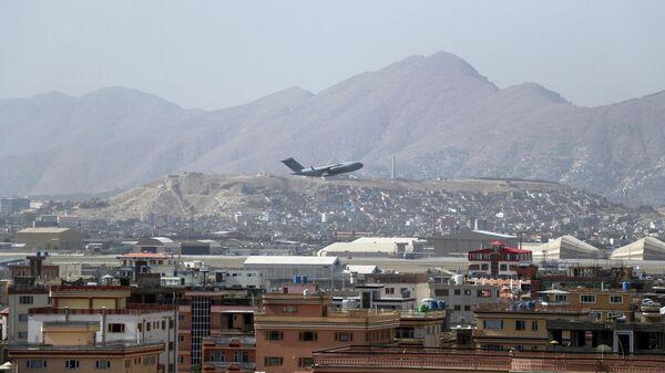 Местность вблизи аэропорта в Кабуле