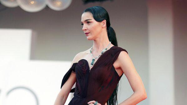 Мариякарла Босконо на 78-м Венецианском международном кинофестивале