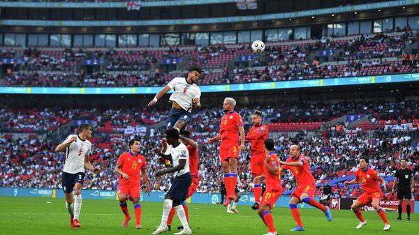 Эпизод матча Англия – Андорра