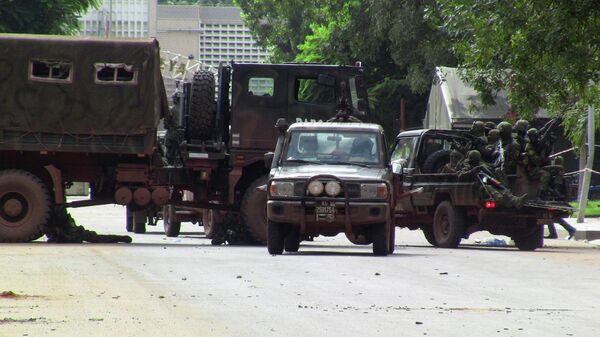 Военные в Конакри, Гвинея