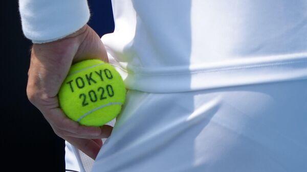 Теннисный мяч Олимпийских игр 2020 года в Токио