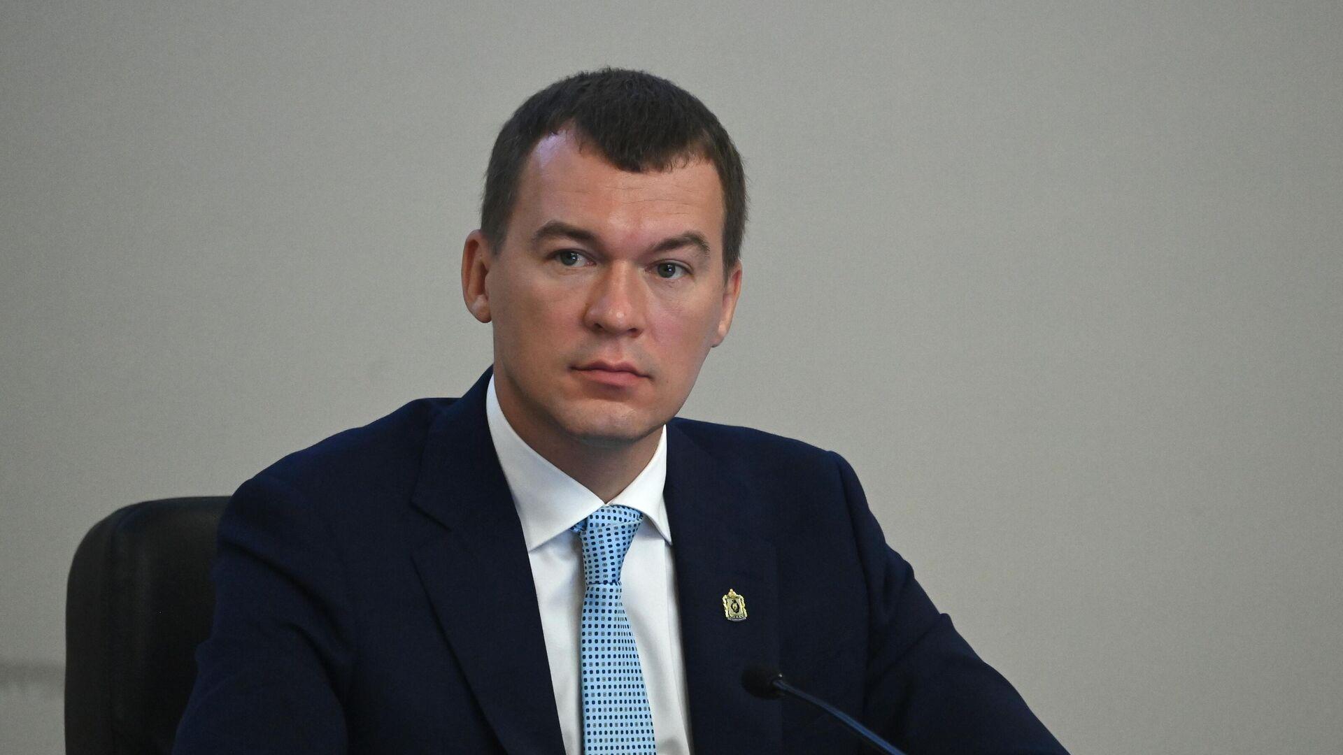 Михаил Дегтярев принял полномочия главы Хабаровского края