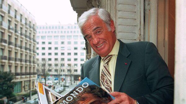 Делон выразил соболезнования в связи со смертью Бельмондо