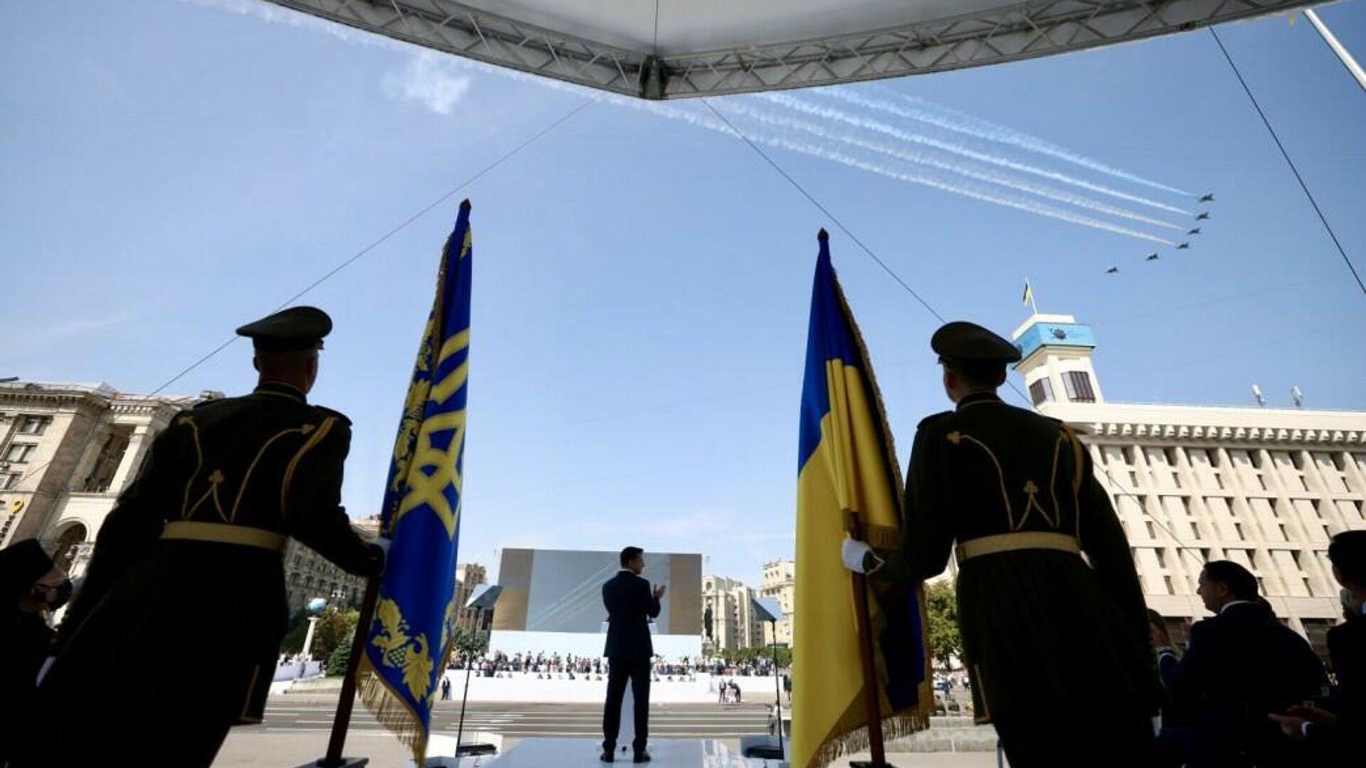 Празднование Дня независимости Украины  - РИА Новости, 1920, 08.09.2021