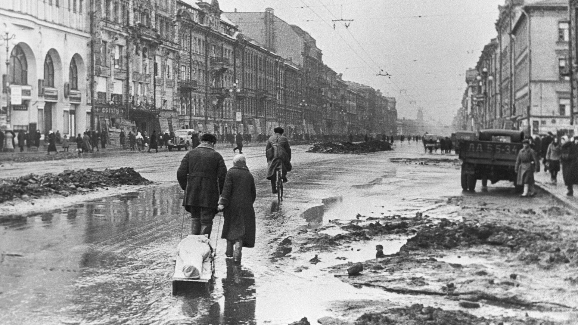 Блокада Ленинграда - РИА Новости, 1920, 08.09.2021