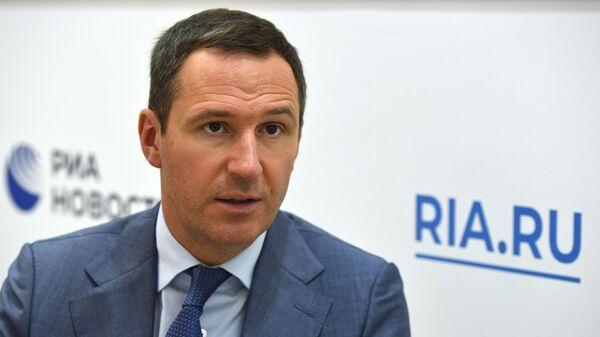 Руководитель компании Российский экологический оператор (РЭО) Денис Буцаев