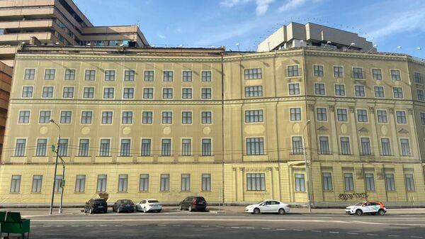 Бывшее общежитие Военной академии имени Фрунзе в Москве