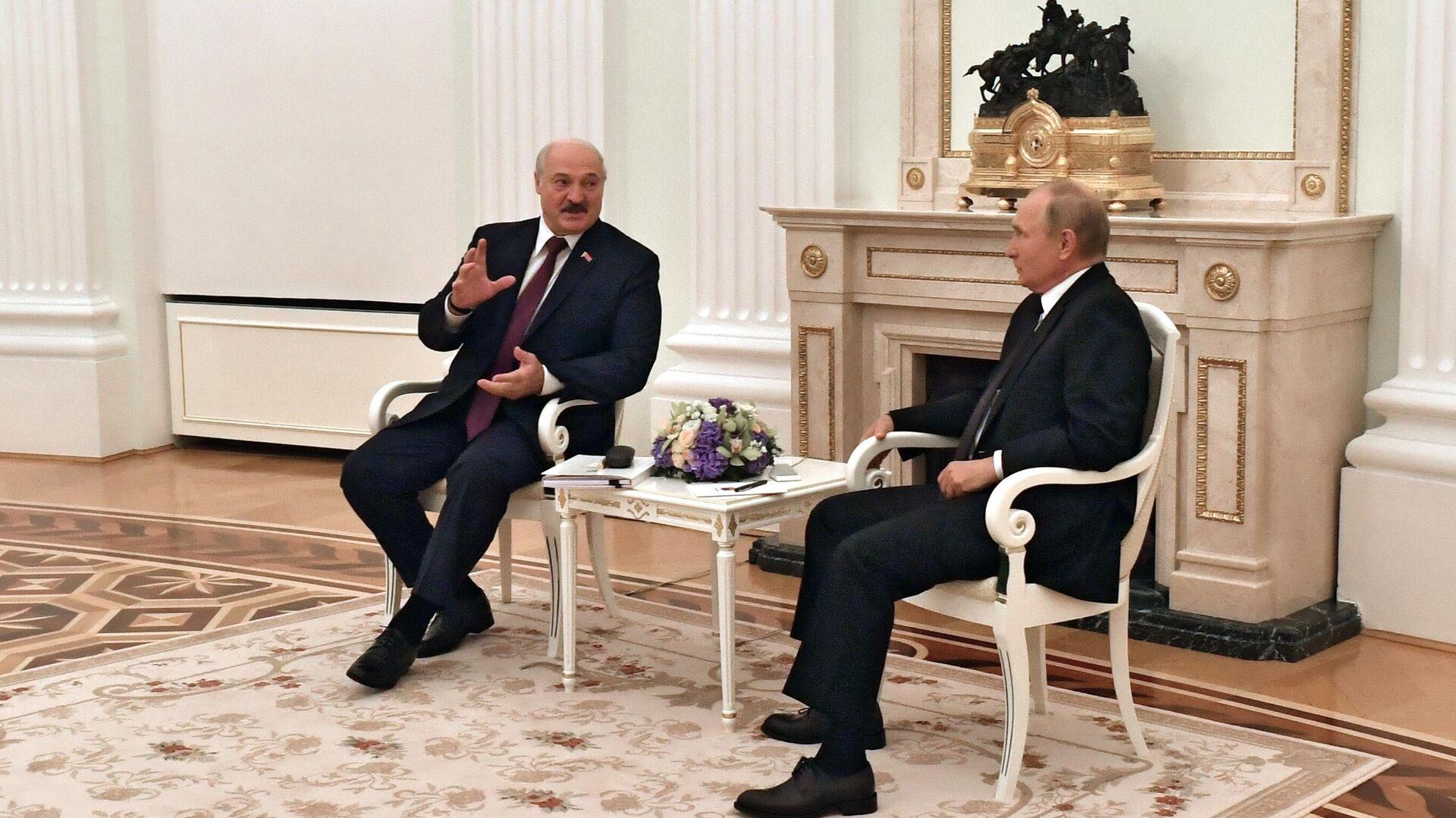 Лукашенко назвал цель интеграции России и Белоруссии
