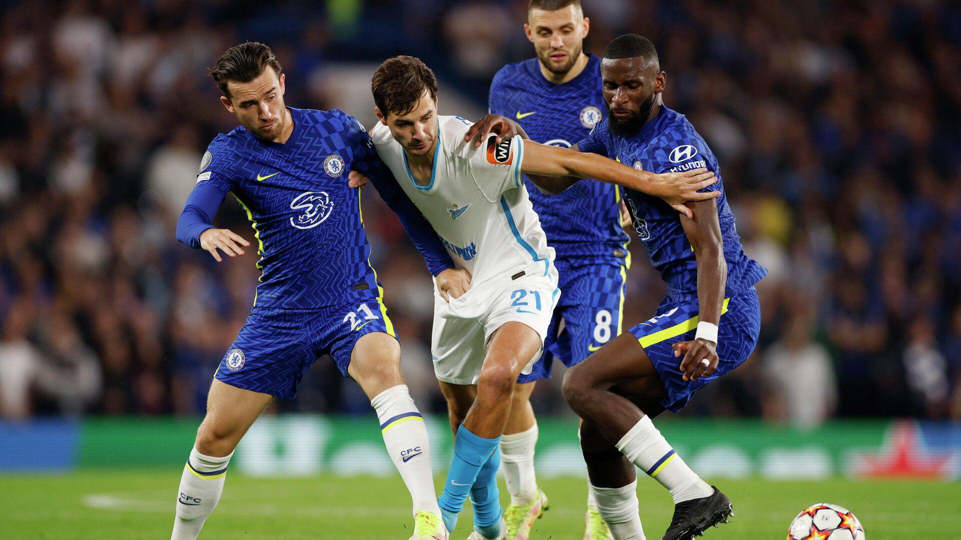"""Английские СМИ уличили """"Зенит"""" в слишком осторожной игре в матче против """"Челси"""""""