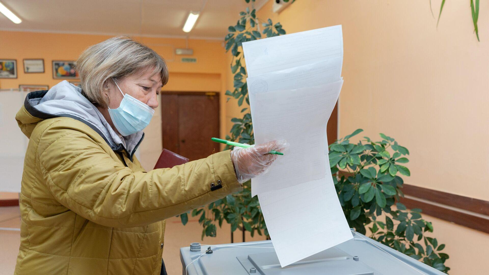 Явка на выборах в Иркутской области составила более 19 процентов