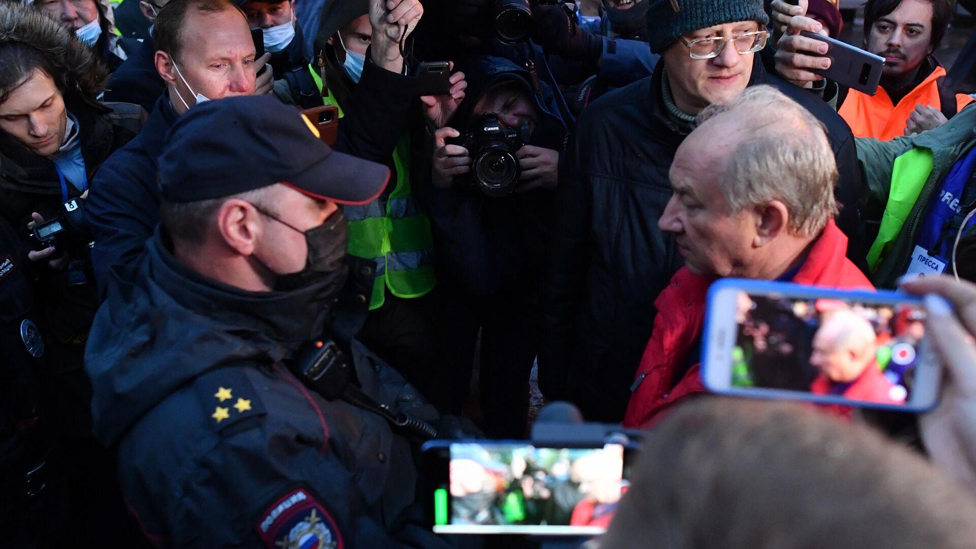 Суд арестовал Удальцова за пост об акции на Пушкинской площади