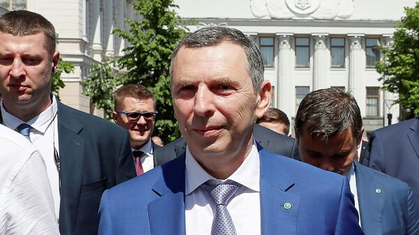 Помощник президента Украины Сергей Шефир