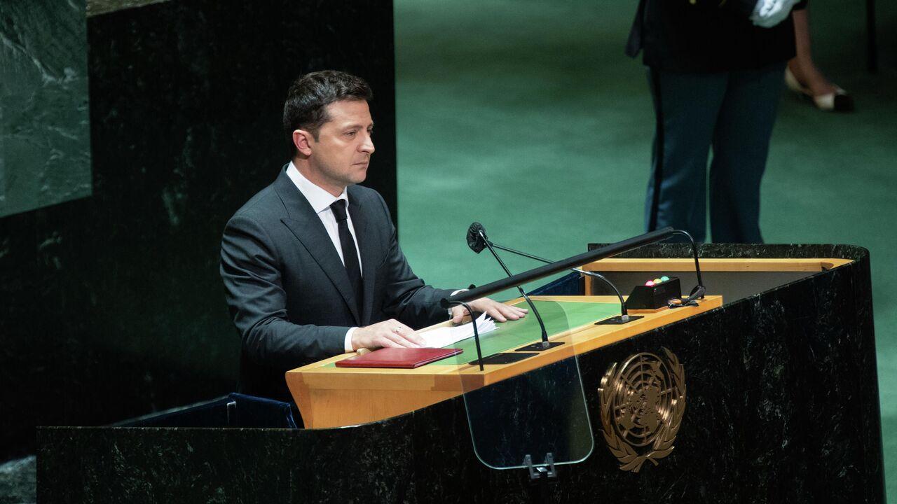 За спиной Зеленского на переговорах в ООН не вывесили флаг Украины