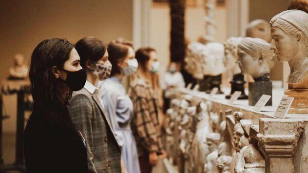 Фотография из Instagram-аккаунта молодежного проекта Пушкинский. Youth ГМИИ им. А.С. Пушкина
