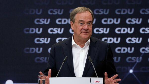 Председатель партии Христианско-демократический союза Армин Лашет