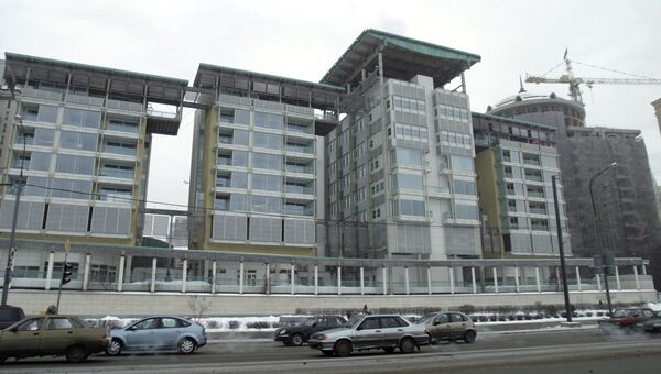 Посольство Великобритании в Москве. Архивное фото
