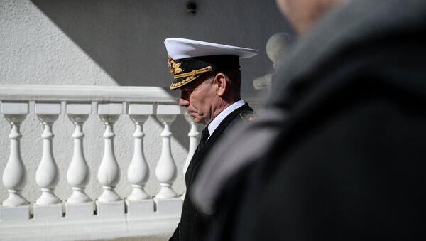 Бывший главнокомандующий Военно-морскими силами Украины Сергей Гайдук. Архивное фото