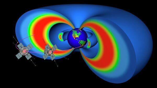 Зонды RBSP исследуют радиационные пояса Земли