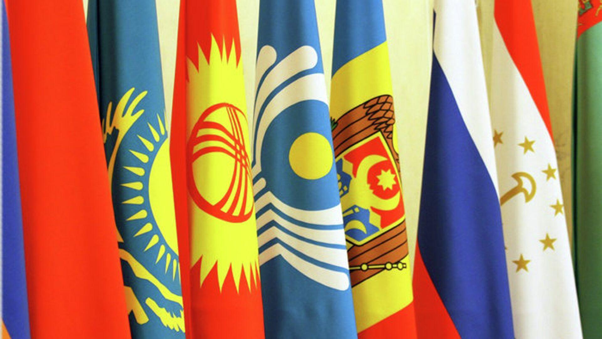 Флаги государств СНГ  - РИА Новости, 1920, 31.12.2020