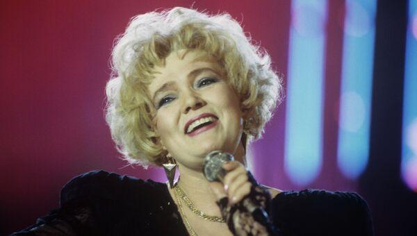 Певица Екатерина Шаврина. Архивное фото