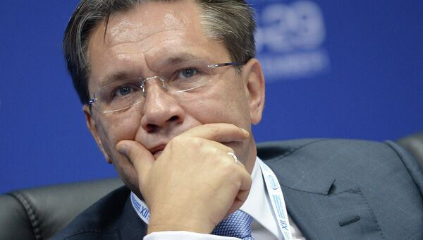 Заместитель министра экономического развития РФ Алексей Лихачев