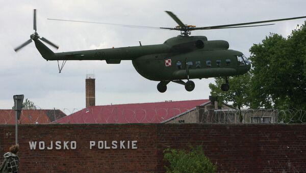 Польская военная база. Архивное фото