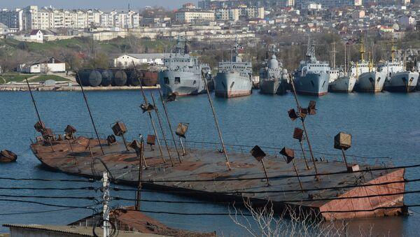 Корабли в Стрелецкой бухте Севастополя