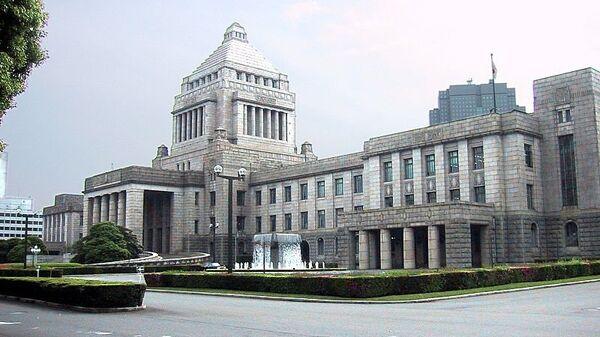 Здание японского парламента