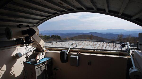 Крымская обсерватория. Архивное фото