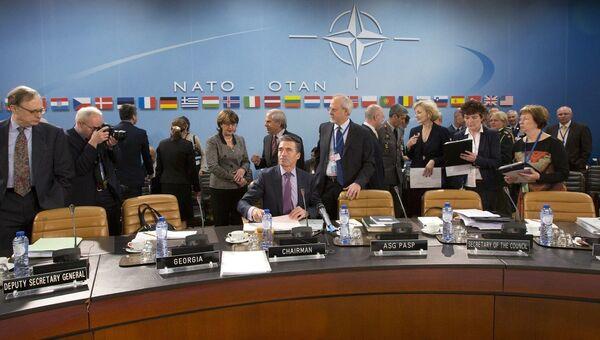 Саммит НАТО в Брюсселе. 2 апреля 2014